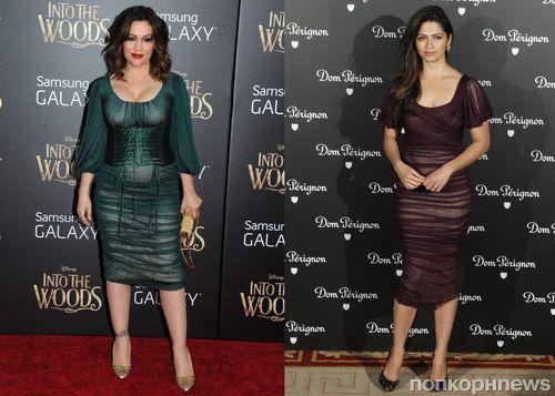 Fashion battle: Алисса Милано и Камила Альвес