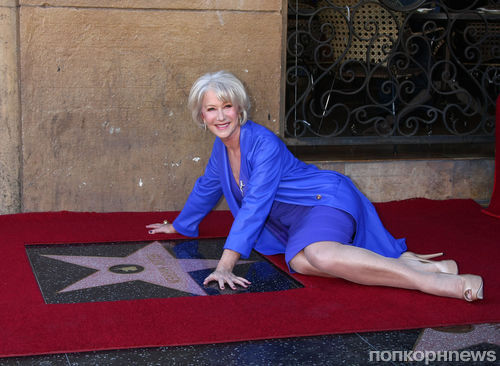 Хелен Миррен получила звезду на Аллее славы