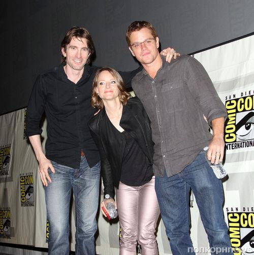 "Мэтт Дэймон и Джоди Фостер представили ""Элизиум"" на Comic-Con"