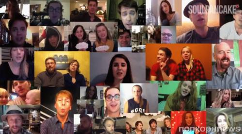 Звезды записали видео для больного раком юноши