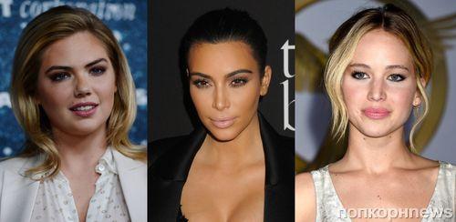 Дженнифер Лоуренс, Кейт Аптон и Ким Кардашян — самые популярные знаменитости в Google