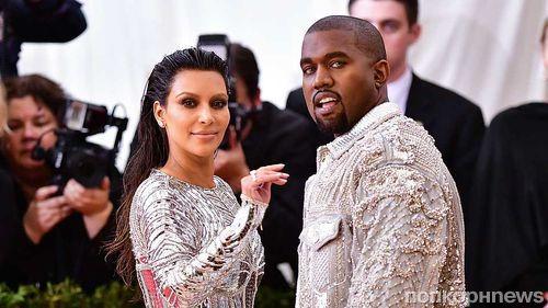 «Спасибо за поддержку»: Канье Уэст подарил Ким Кардашьян миллион долларов