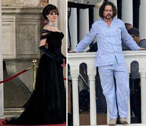 Анджелина Джоли считает Джонни Деппа глупым и скучным, а он ее - выскочкой