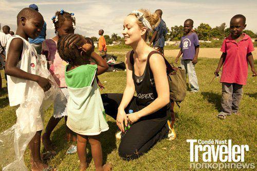 Оливия Уайлд в журнале Conde Nast Traveler. Сентябрь 2012