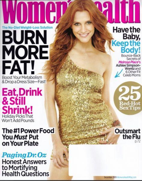 Эшли Симпсон в журнале Women's Health. Декабрь 2009