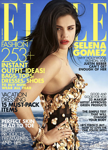 Селина Гомес в журнале Elle. Июль 2012