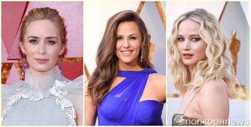 Крупным планом: макияж и прически звезд с красной дорожки «Оскара» 2018