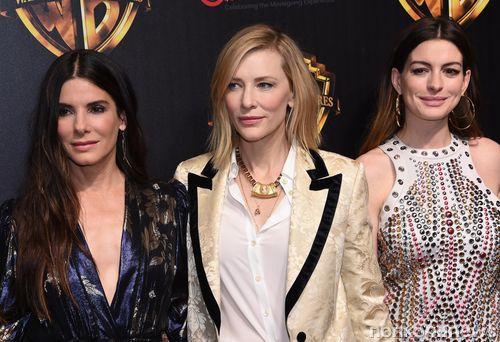 Сандра Буллок, Кейт Бланшетт и другие звезды представили «8 подруг Оушена» на CinemaCon 2018
