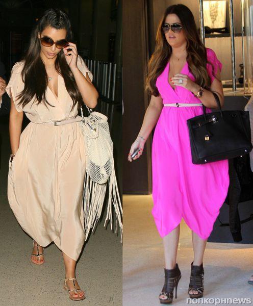 Fashion battle: Ким Кардашиан и Хлое Кардашиан