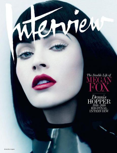 Меган Фокс в журнале Interview. Июнь/Июль 2010