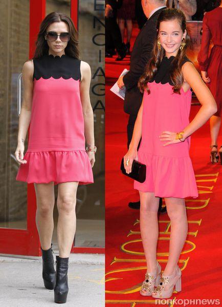 Fashion battle: Виктория Бэкхем и Селин Бакенс