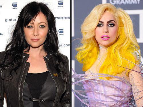 Lady Gaga - икона стиля для Шэннен Доэрти
