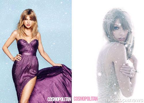 Тейлор Свифт в журнале Cosmopolitan Великобритания. Декабрь 2014