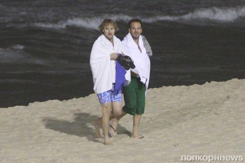 Оуэн Уилсон и Стивен Дорфф отдыхают в Бразилии