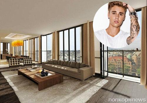 Джастин Бибер купил пентхаус в Амстердаме за 27 млн долларов