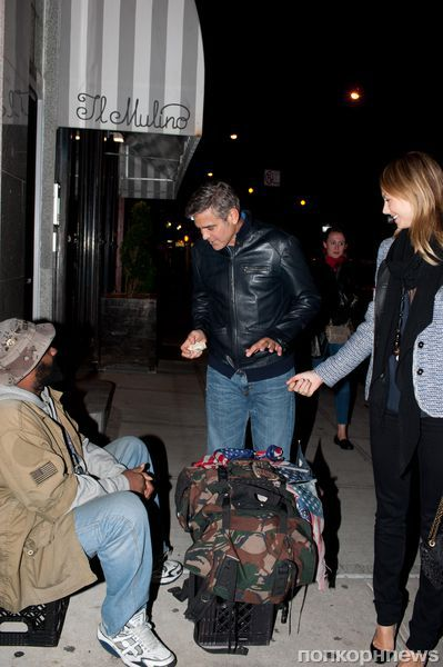 Щедрый Джордж Клуни?