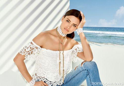 Ирина Шейк стала лицом летней кампании Bebe
