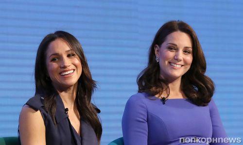 СМИ: Кейт Миддлтон и Меган Маркл на самом деле терпеть не могут друг друга