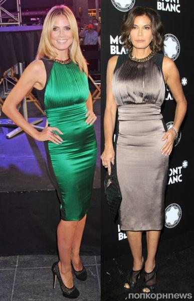Fashion battle: Хайди Клум и Тери Хатчер