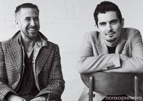 Райан Гослинг и Дэмьен Шазелл в ноябрьской фотосессии для GQ