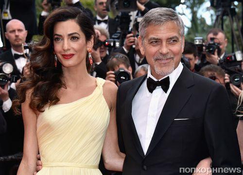 Официально: Джордж и Амаль Клуни станут родителями в июне