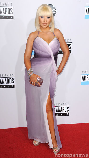 Звезды на церемонии American Music Awards 2012
