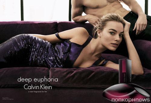 Марго Робби снялась в рекламной кампании Calvin Klein: первый взгляд