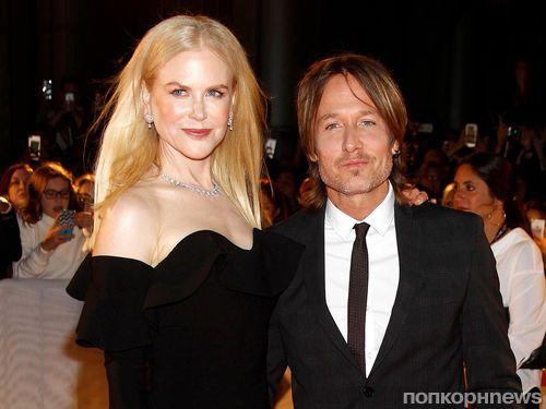 Николь Кидман и Кит Урбан вышли на красную дорожку кинофестиваля в Торонто