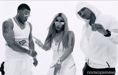 Новый клип Nelly feat. Ники Минаж и Pharrell - Get Like Me