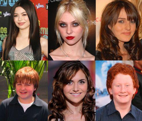Разные звезды одного возраста. Подборка фото