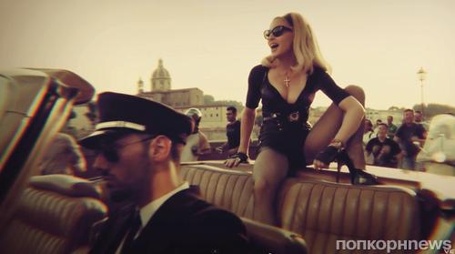 Новый клип Мадонны -  Turn Up The Radio