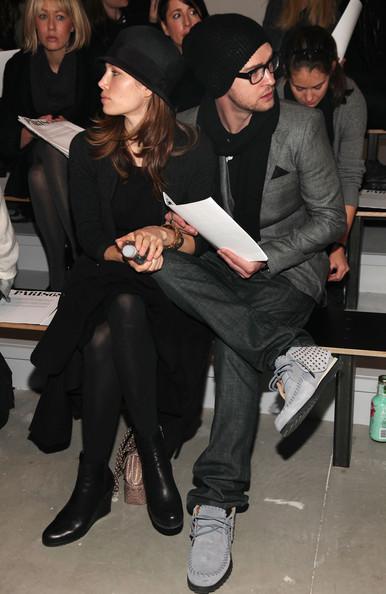 Джессика Бил и Джастин Тимберлейк на показе Paris68. 18 февраля