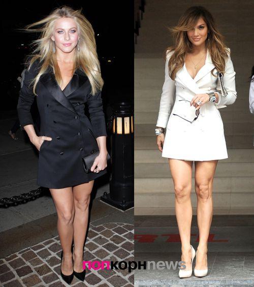 Fashion battle: Джулианна Хаф и Дженнифер Лопес