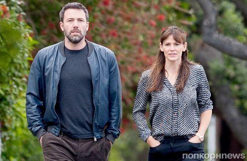 Бен Аффлек и Дженнифер Гарнер по условиям развода будут полгода посещать семейного психолога