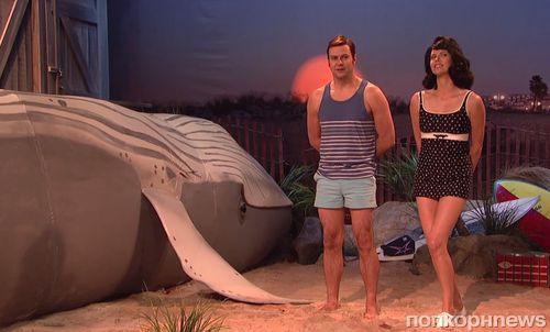 Шарлиз Терон на шоу Saturday Night Live