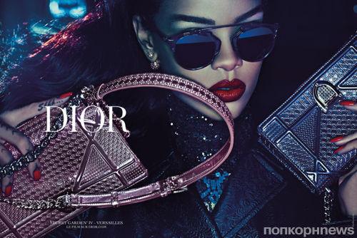 Рианна снялась в рекламной кампании Dior Secret Garden: первые кадры