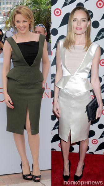 Fashion battle: Кайли Миноуг и Кейт Босуорт