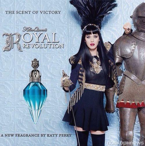 Кэти Перри в рекламе нового парфюма