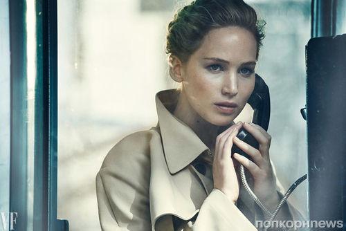 Дженнифер Лоуренс украсила обложку «новогоднего» выпуска Vanity Fair