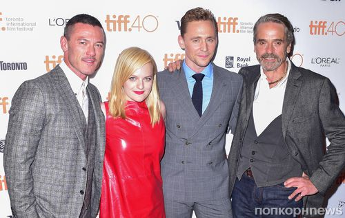 Том Хиддлстон, Люк Эванс и другие на премьере фильма «Высотка» в Торонто