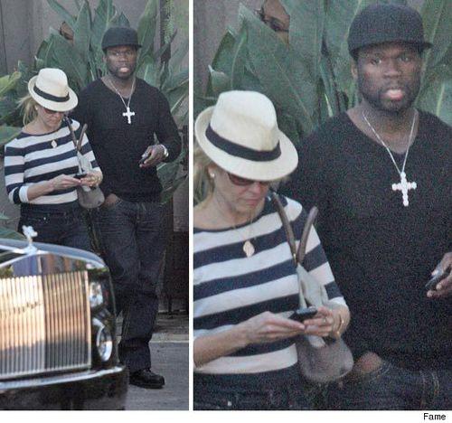 50 Cent и Челси Хандлер в Малибу