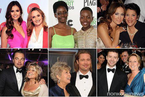 Голливудские знаменитости и их мамы - в честь международного Дня матери