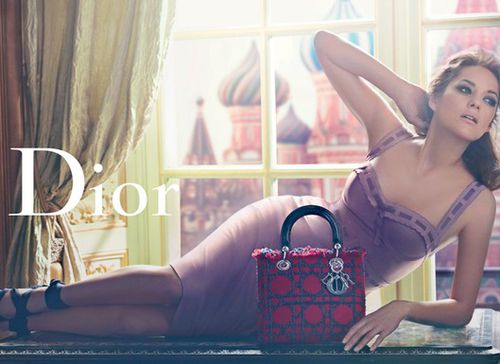 Марион Котийяр: новая реклама сумки Lady Dior