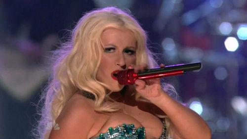 Выступление Кристины Агилеры на шоу The Voice