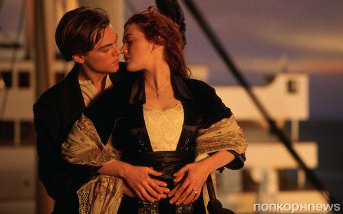 Сцену поцелуя в «Титанике» признали лучшим поцелуем в истории кино