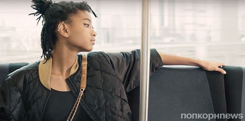Дочь Уилла Смита появилась в новом рекламном видео Chanel