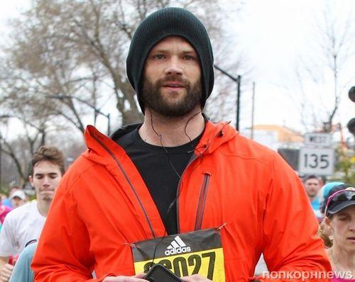 Фото: звезда «Сверхъестественного» Джаред Падалеки принял участие в марафоне