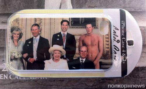 Голый принц Гарри украсит чехол для iPhone