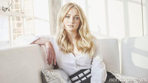 Софи Тернер призналась, что ей больше нравится быть блондинкой, в фотосете для Elle