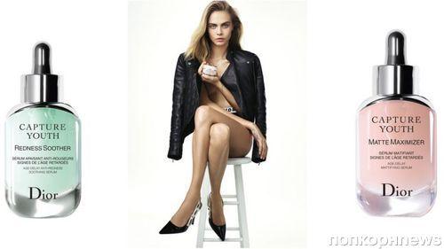 Видео: Кара Делевинь в рекламе антивозрастной косметики Dior